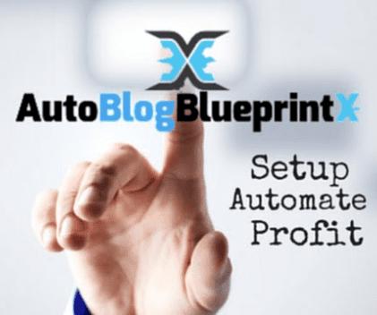 Auto Blog Blueprint X