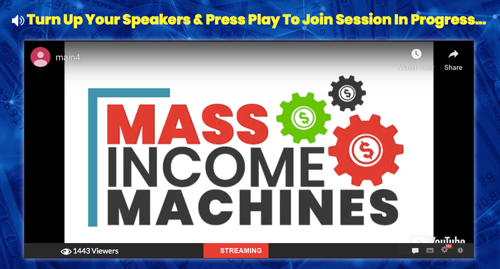 The Mass Income Machine Review