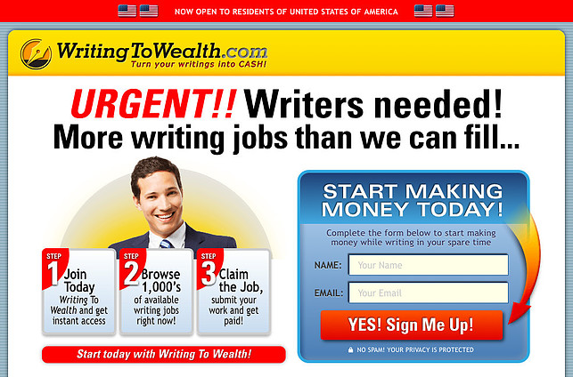 What Is Writing To Wealth