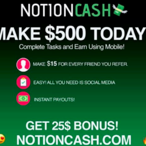 Is Notion Cash Legit?