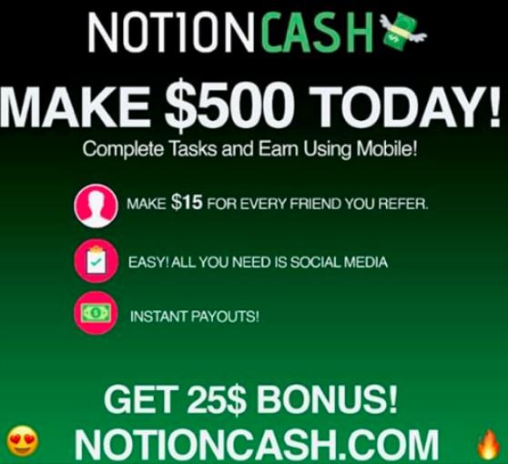 Is Notion Cash Legit?
