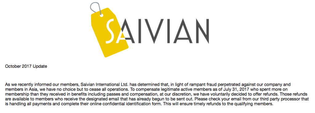 Saivian Review - Ponzi Scam Revealed