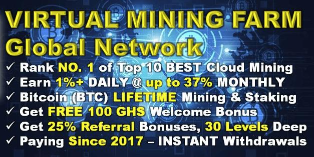 Virtual Mining Farm Review - Will This Farm Make You Money?