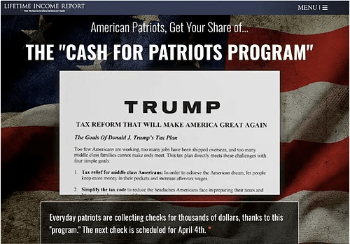 What Is The Cash For Patriots Program?