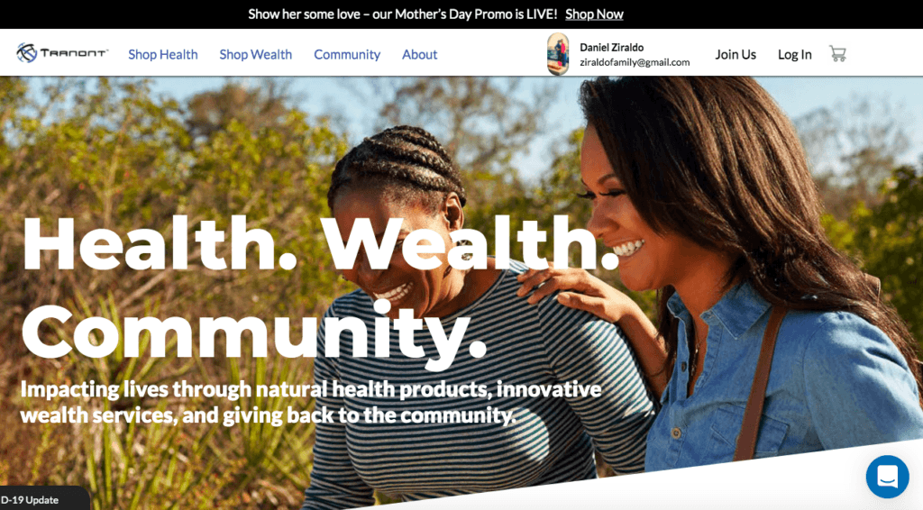 Tranont Health Products - Can You Make Money With Them?